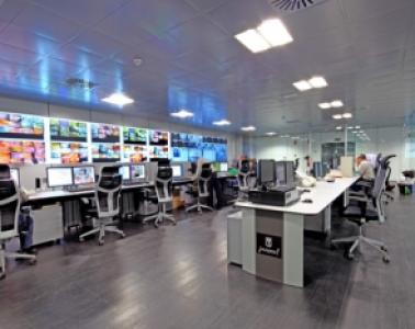 Lighting and integration centre for the control centres and safety components of the AZCA tunnels