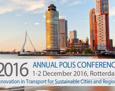 MoveUs Project has been awarded with the Thinking Cities Award at the Polis Annual Conference, held in December in Rotterdam