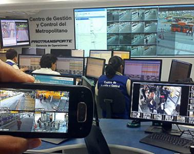 Acquisition and commissioning of a video surveillance system for Cosac I