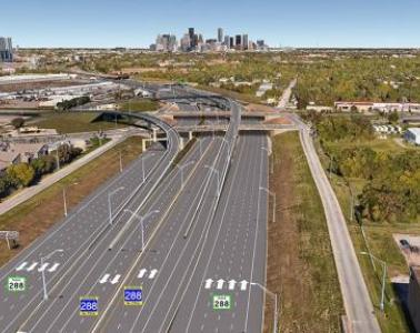 SICE will supply and install the ITS and ETC systems on the SH288 Highway in Texas (USA)