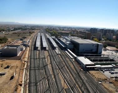 High Speed Line Madrid-Levante route Access to Albacete