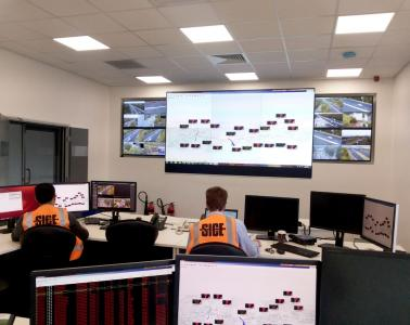 Traffic management system for the M5 West Widening Project