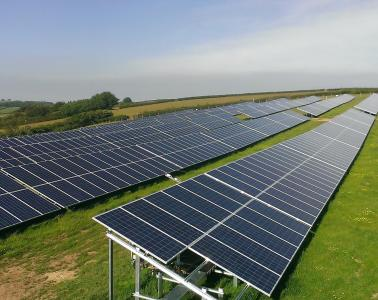 Photovoltaic Solar Project (1.4 MW) in Blatchworthy (United Kingdom)