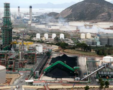 CCTV and public address system for the Repsol refinery in Cartagena