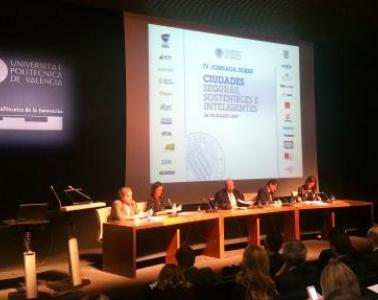 SICE has contributed on the Universidad Politécnica de Valencia's conference about safe, sustainable and smart cities