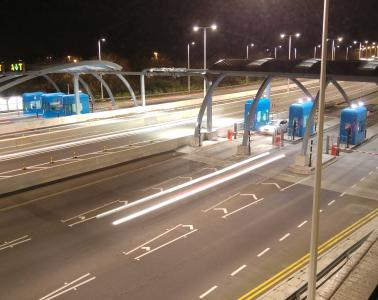 Replacement of the Humber Bridge toll collection system including conventional electronic toll collection and the multi-lane free flow lanes
