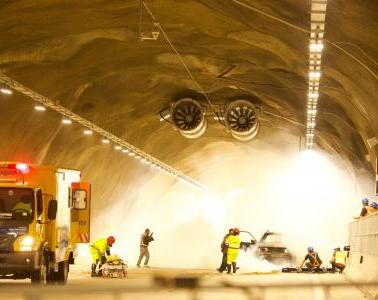 The four tunnels in  Serra do Cafezal, Brazil, are now opened
