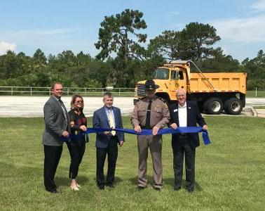 The Florida Department of Transportation opened the first operational truck parking availability system