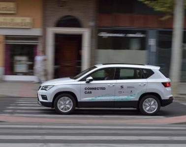 Talavera de la Reina hosts the first experience of assisted driving through the mobile network in Castile-La Mancha