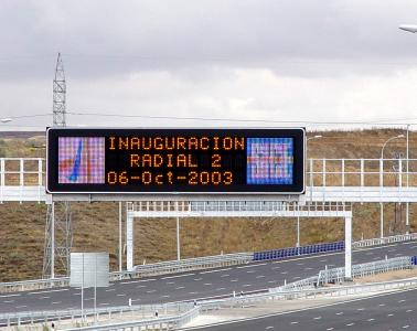 Toll collection and traffic management system for the R2 Madrid - Guadalajara and M-50 highways