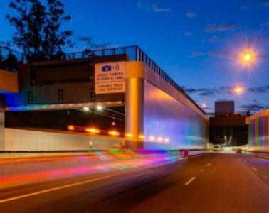 Opening of the WestConnex M4 East tunnel between Parramata and Homebush
