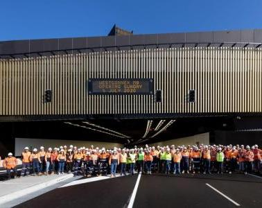 SICE is one step closer to Australia's most advanced consolidated control room with WestConnex M8 now open to traffic