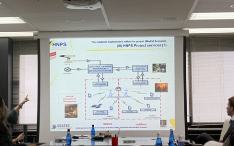 Workshop of European HNPS project at Madrid Regional Transport Consortium (CRTM) facilities