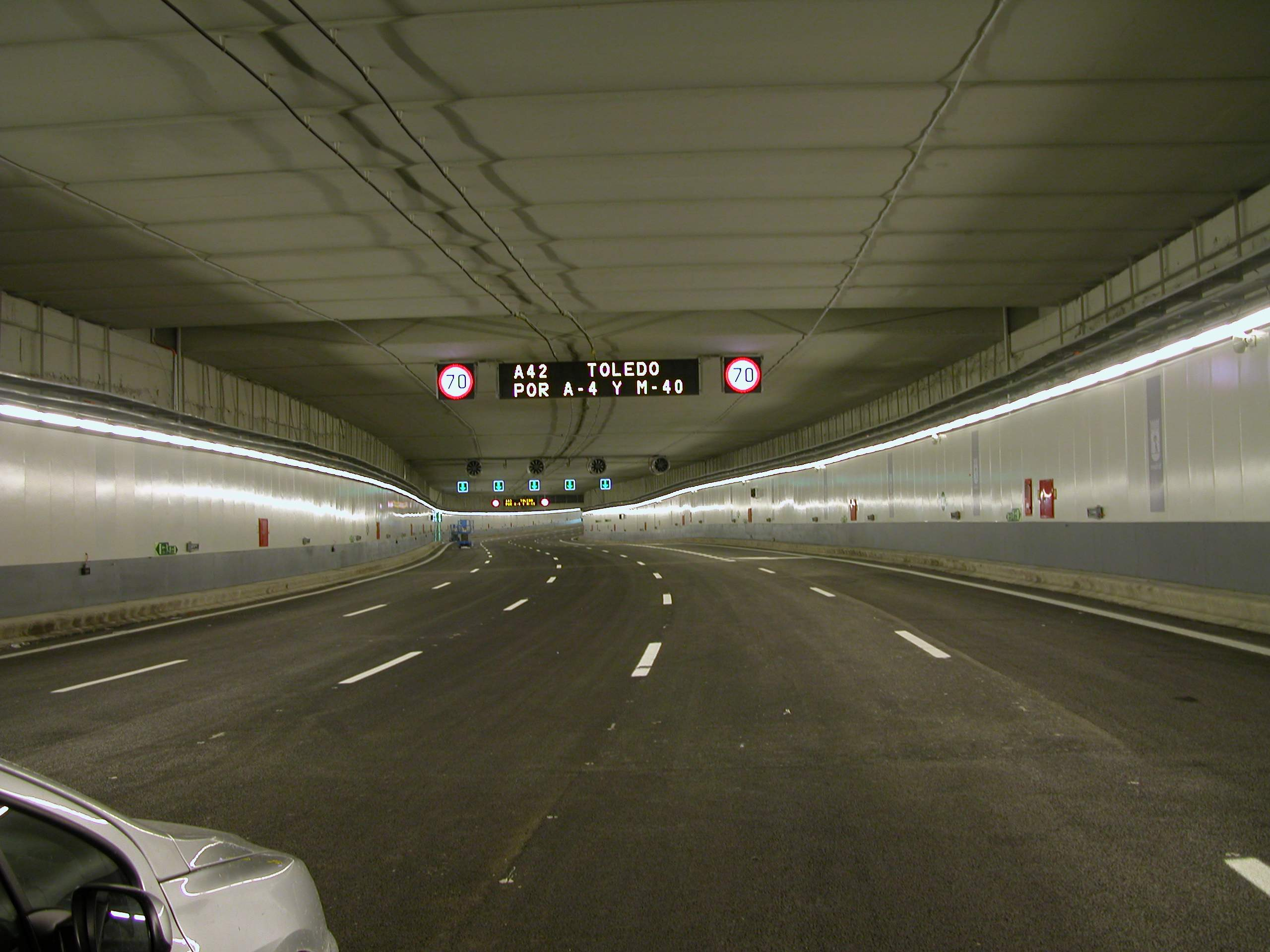 Control centre for Madrid Calle 30 tunnels | SICE