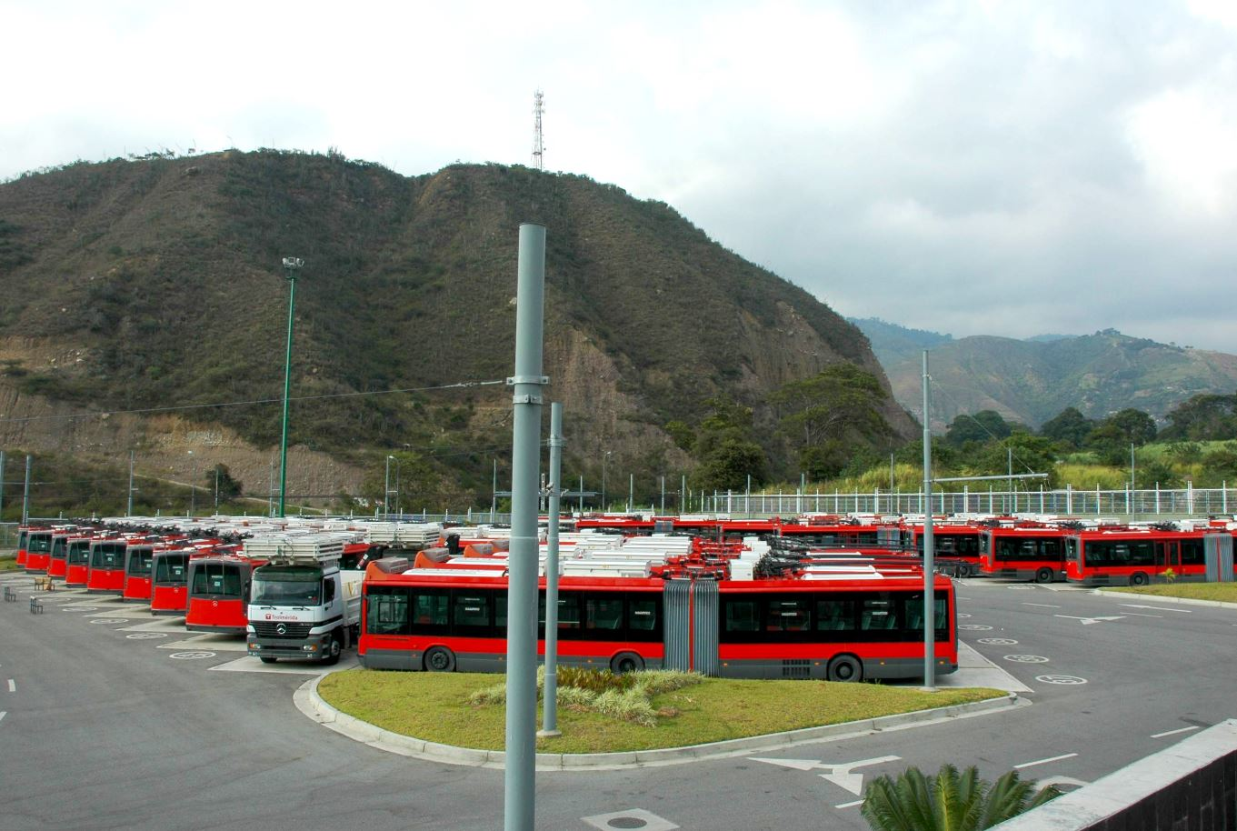 Mass transport system for the city of Mérida