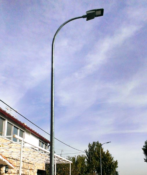 Provision of an integral outside lighting system for the municipality of Móstoles
