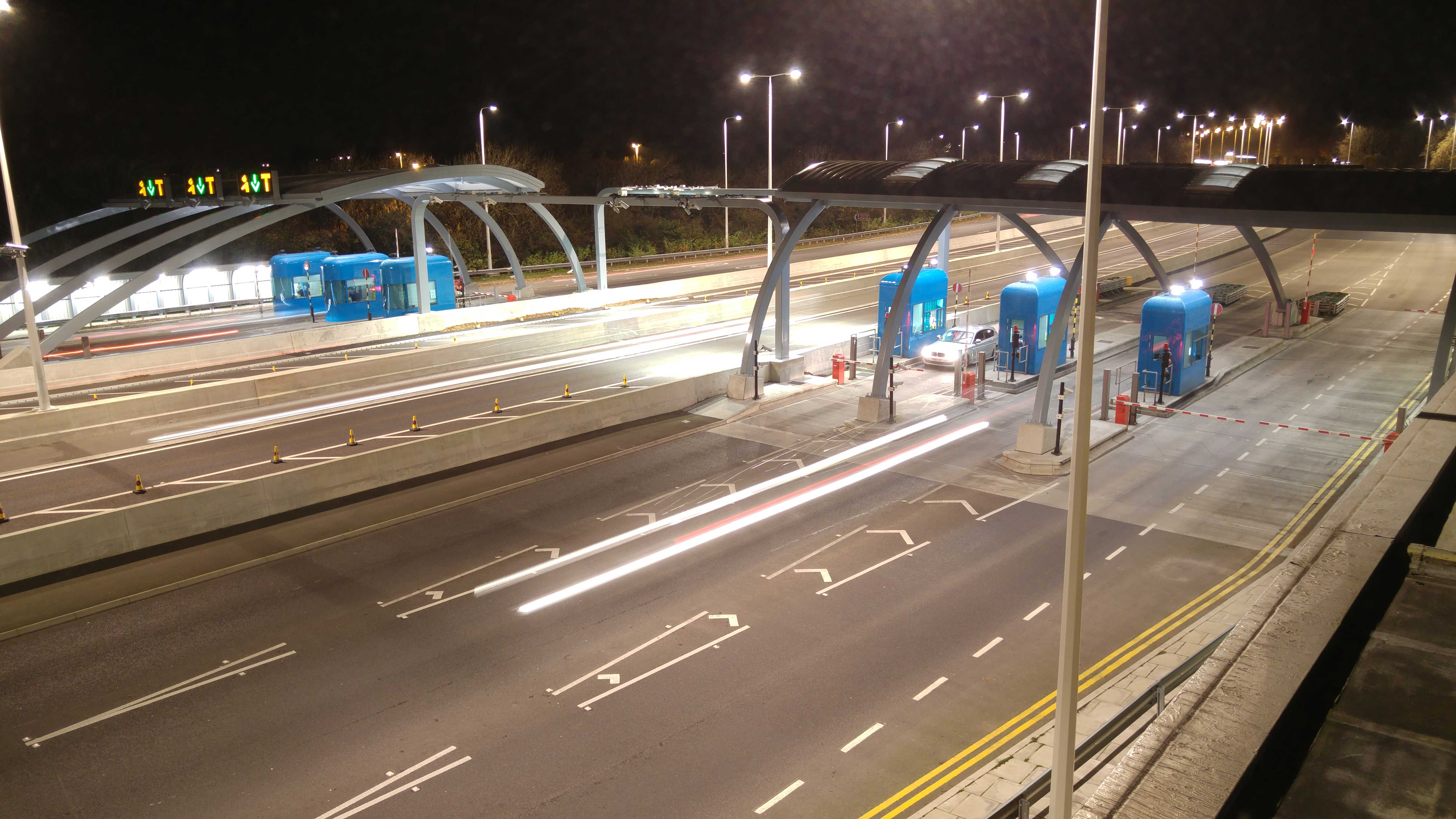 Update of the Humber bridge tolling system including the standard system and the free flow one