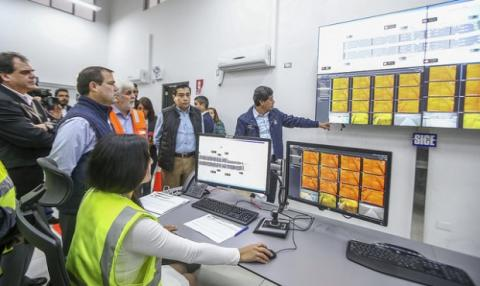 The first smart airport  tunnel in Peru, the Gambetta Tunnel, completes its trial run stage begins to operate normally