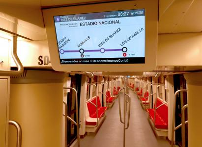 SICE improves the users' travel experience in Metro Line 6 in Santiago de Chile