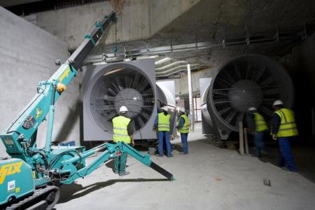 SICE will install the communications network in 39 ventilation shafts of Metro de Madrid