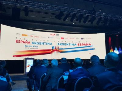 SICE attends the first Spain-Argentina brokerage event