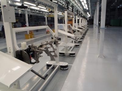 SAS Automotive Systems commissions SICE with a cockpit assembly line in Kentucky, USA