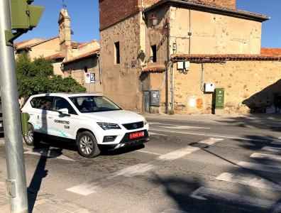 Segovia welcomes the presentation of the first case of assisted driving through the mobile network