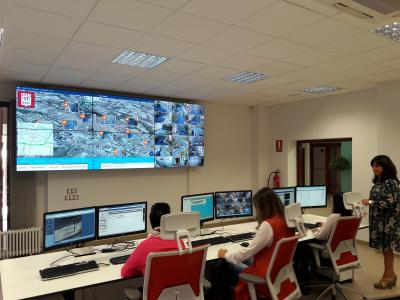 SICE has been awarded the management of the centralized integrated traffic regulation system on the Smart Platform of the city of Logroño