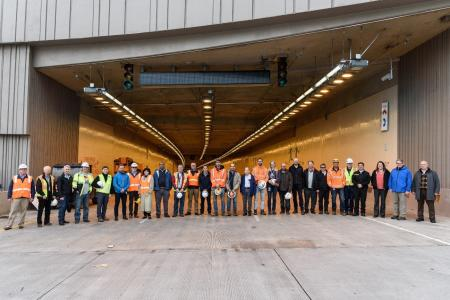 SR99 Tunnel recognized as one of the American's Top Engineering Achievements
