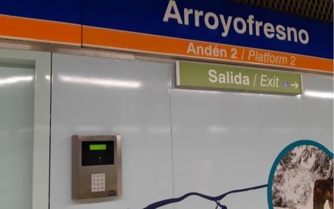 Madrid Metro entrusts to SICE the integral maintenance of its access control systems in all the Metro stations, Control Centers (ICTs) and Electrical Substations
