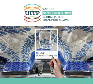 SICE will participate in the UITP Global Public Transport Summit 2019 held from June 9 to 12 in Stockholm