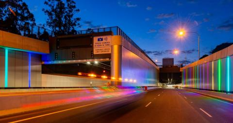 Inauguration of the M4 East tunnel between Parramata and Homebush