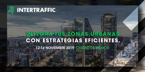 SICE will be present at Intertraffic Mexico 2019 from November 12 to 14 in Mexico City