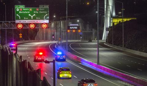 Waterview Tunnel celebrates its third anniversary with more than 24 million drivers a year