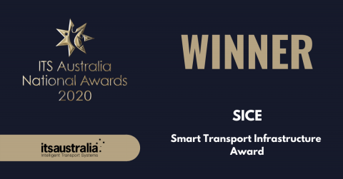 SICE wins an ITS Australia National Award for 2020