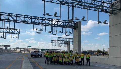 SICE Achieves Service Commencement on the SH288